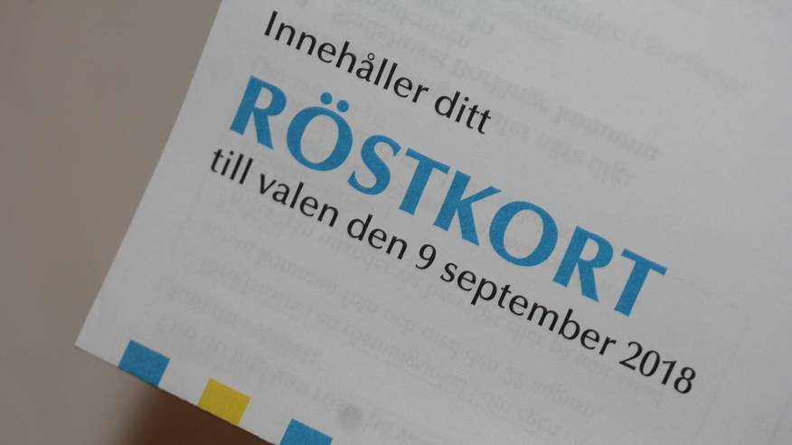 When Sweden and Organized Gang Stalking targetting people they don´t get any Poll Card to vote