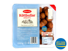 "State of Sweden targetting you with the company name ""Enebacken"" for meatballs you have on your sandwich in real time presence"