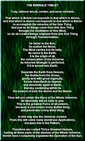 The Emerald Tablet, the philosopher´s stone, Thousands of ot herseekers will walk past the true path that is evident to you because it is yours to show the way, it is yours to illuminate, it is yours to shine the light upon. TheTablets of Light is a reactivation of Divine consciousness inhabiting the humansoul. That is how it has always been